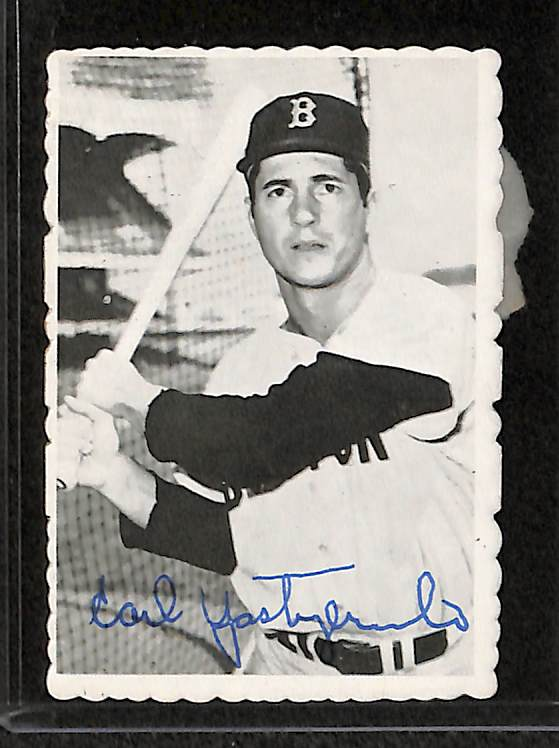 Lot Detail Lot Of 17 1969 Toppd Deckle Edge Baseball Cards W Mays