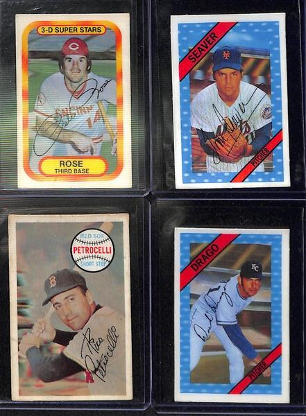 Lot Detail Kelloggs 3d Baseball Card Lot Of 200