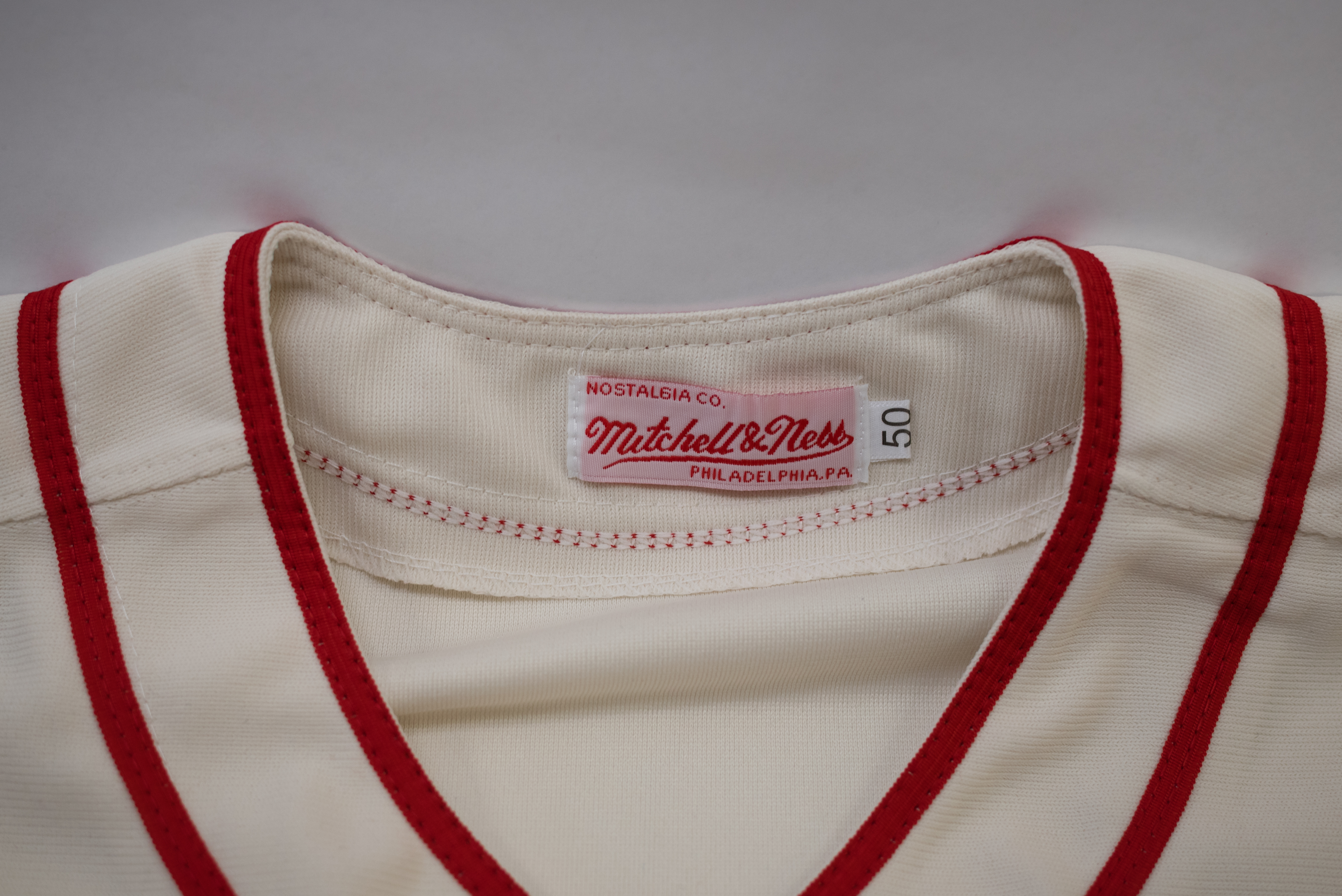 newest 3e4a2 645fd Lot Detail - Ted Williams Retro style Mitchell & Ness ...