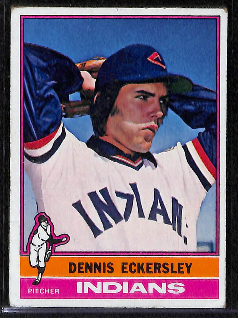 Lot Detail 1976 Topps Complete Baseball Set W Eckersley