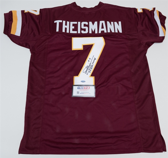 new style 1d615 64c20 Lot Detail - Joe Theisman Signed Washington Redskins Jersey ...