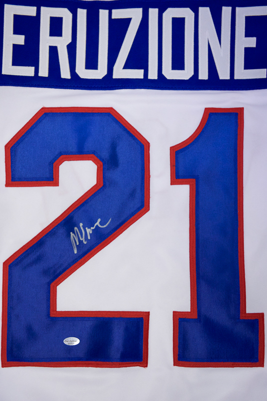 Lot Detail - Mike Eruzione Signed USA Hockey Jersey - Leaf 9d8d0dd0d72