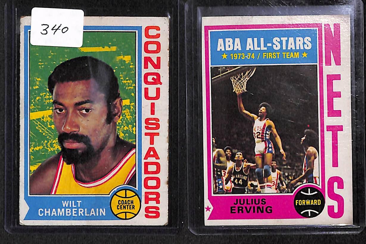 Lot Detail 6 1974 1975 Topps & 3 1978 79 Topps Basketball