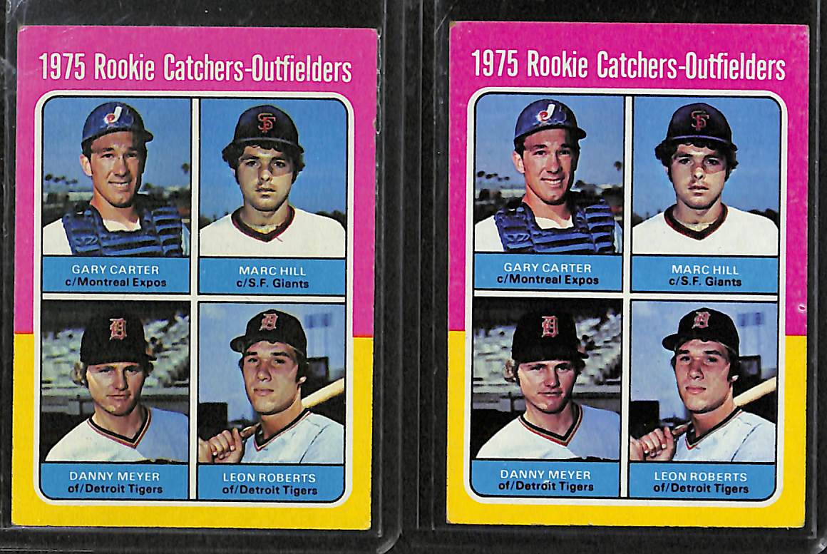 Lot Detail Lot Of 8 1975 76 Topps Rookie Cards W George
