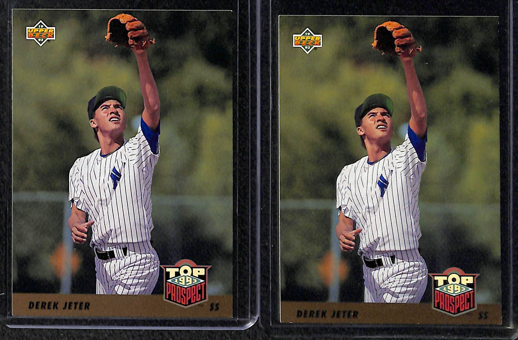Lot Detail Lot Of 160 Baseball Rookie Cards 1993 94 W Jeter