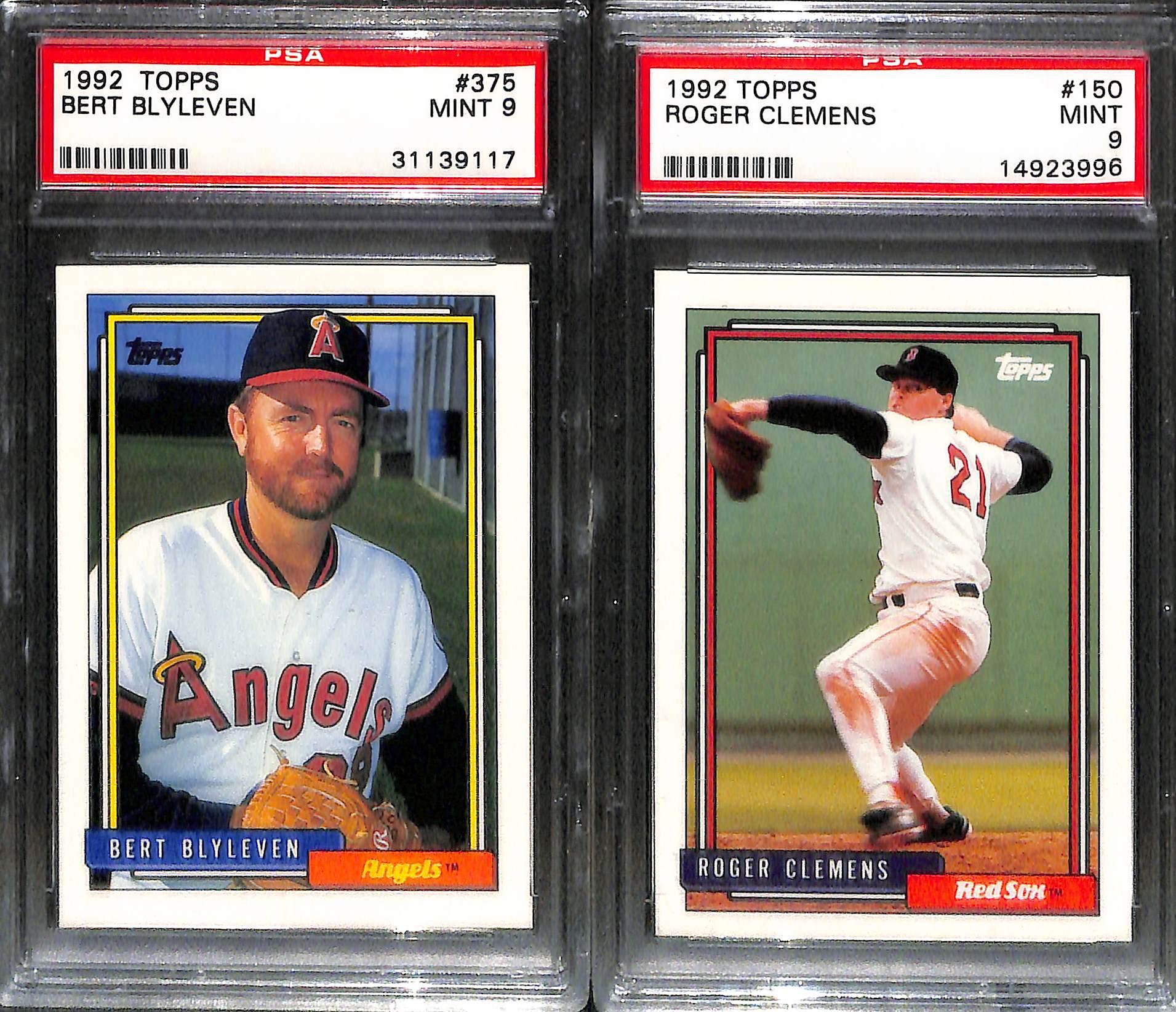Lot Detail Lot Of 22 Stars Sub Stars Psa Graded Baseball Cards