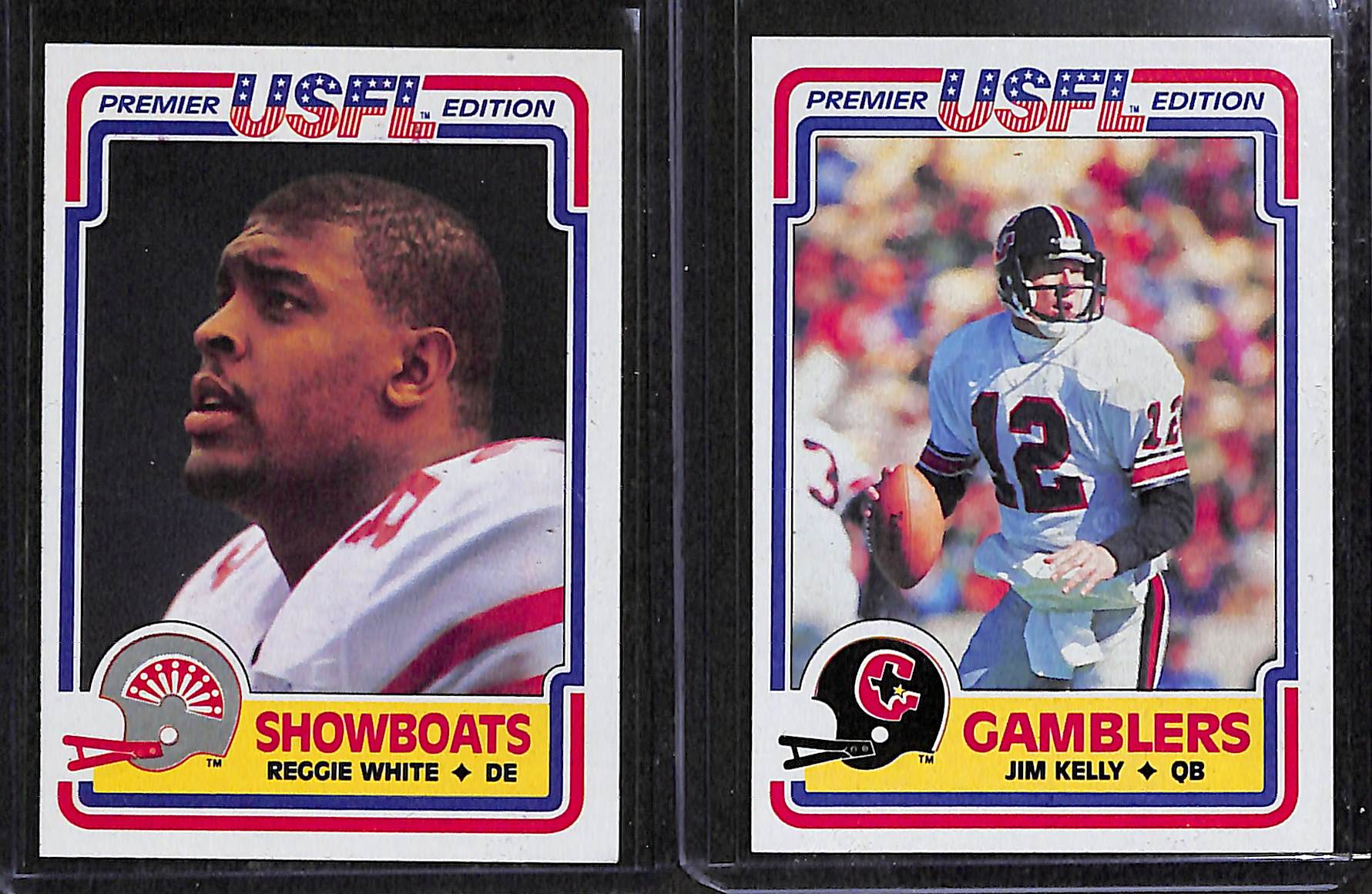 Lot Detail Rare 1984 Topps Usfl Football Set W Rookies Of