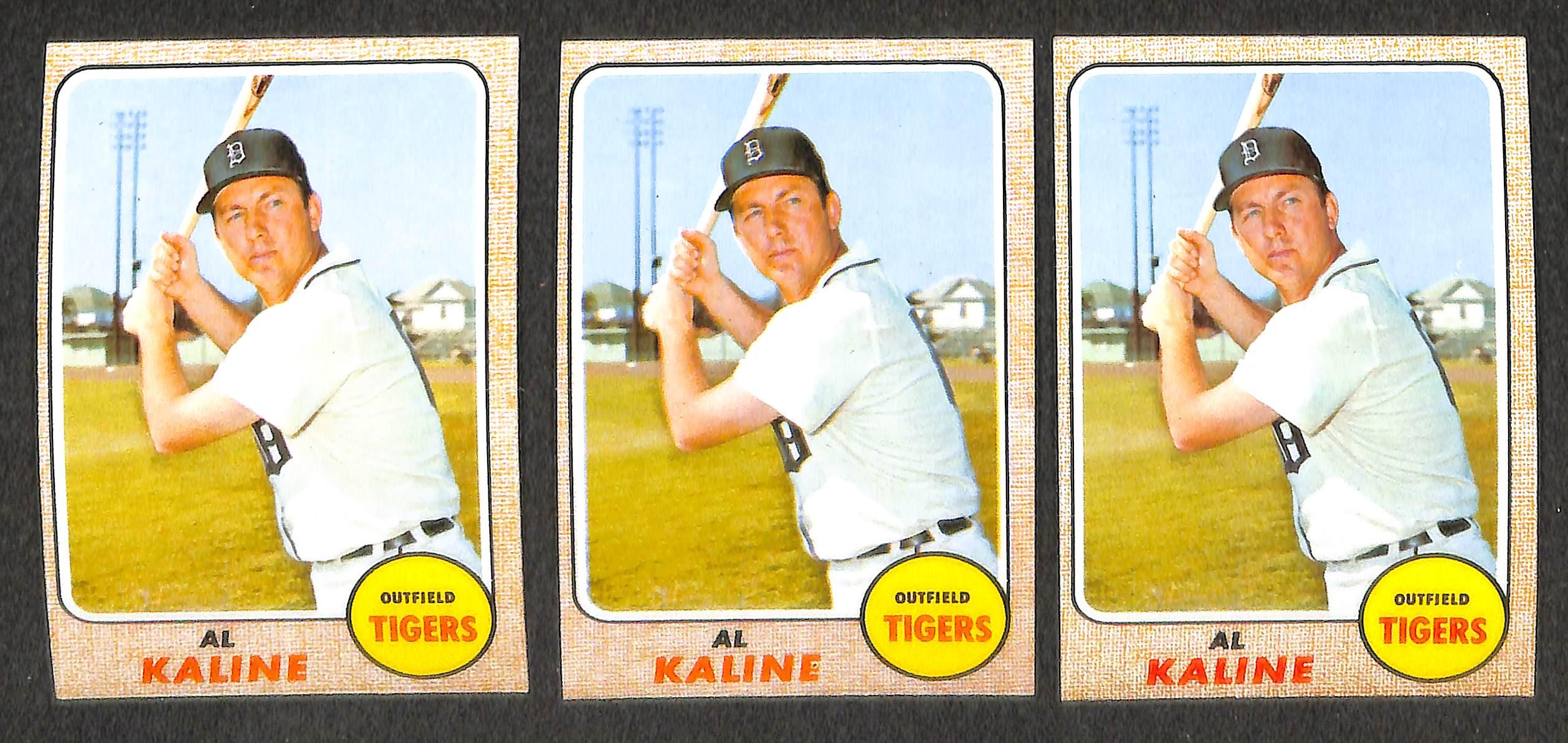 Lot Detail Huge 1968 Topps Baseball Card Lot Over 1500
