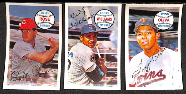 Lot Detail Lot Of 44 Kelloggs Baseball Cards From 1970