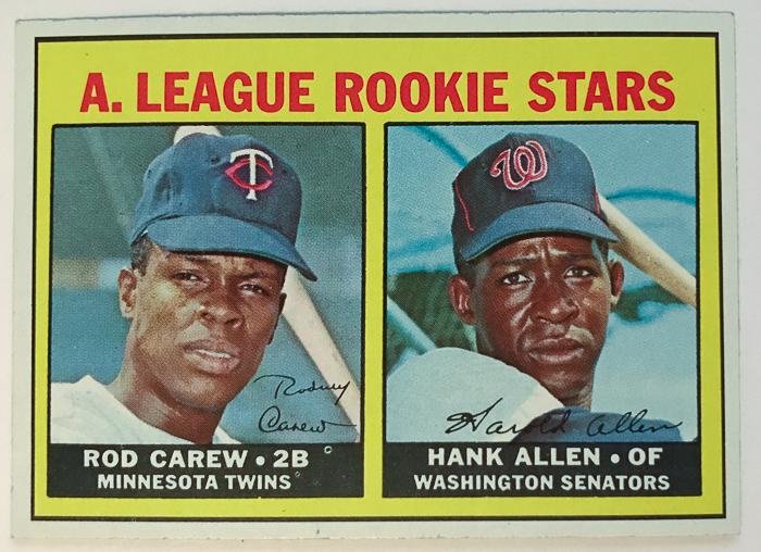 Lot Detail 1967 Topps Rod Carew Rookie Card 569 Psa 65