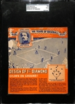 1939 Wheaties Abner Doubleday (Design of First Diamond) SGC 10 (1) Poor