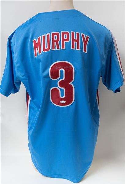 new style 15767 bedc0 Lot Detail - Dale Murphy Signed Phillies Style Jersey (JSA COA)