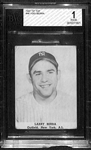 "1947 Tip Top Bread Larry ""Yogi"" Berra Rookie (RARE) Beckett Graded BVG 1.5"