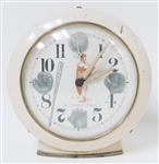 "RARE 1951 Joe DiMaggio ""The Yankee Clipper"" Alarm Clock"