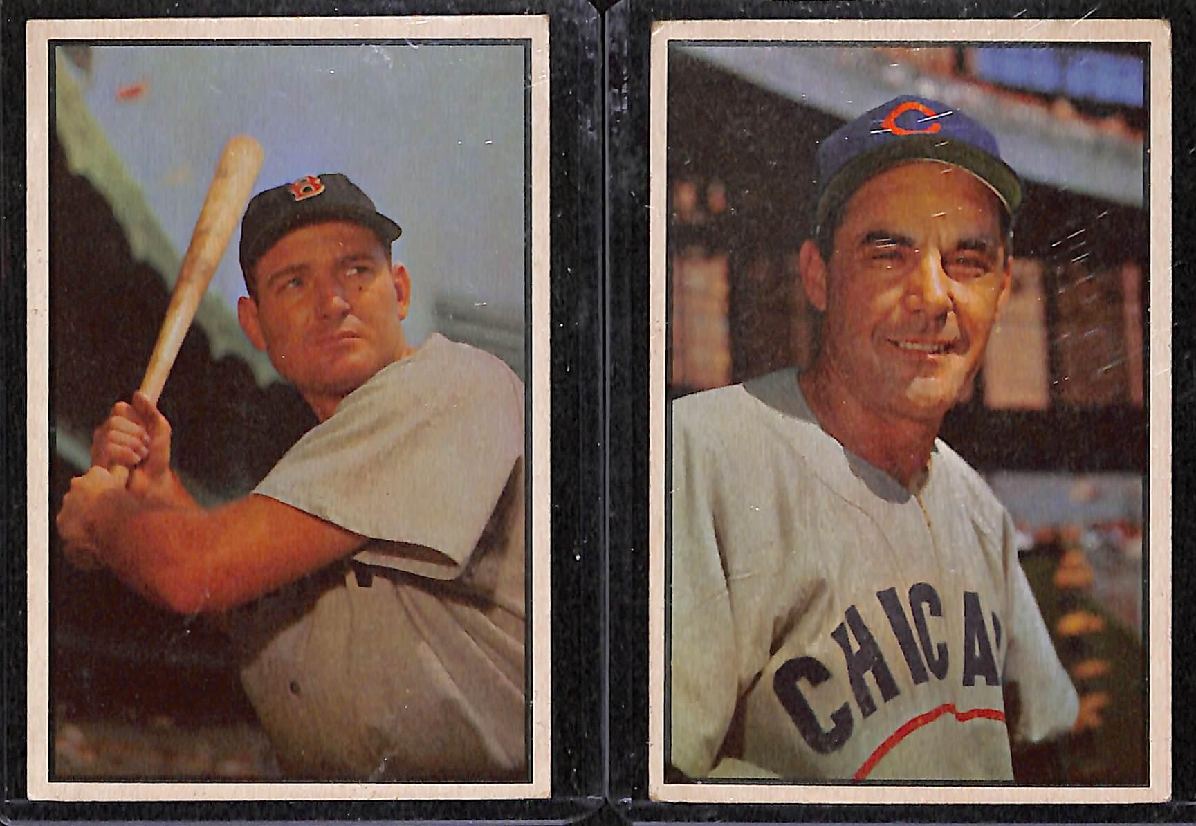 Lot Detail Lot Of 19 1953 Bowman Baseball Cards W George Kell