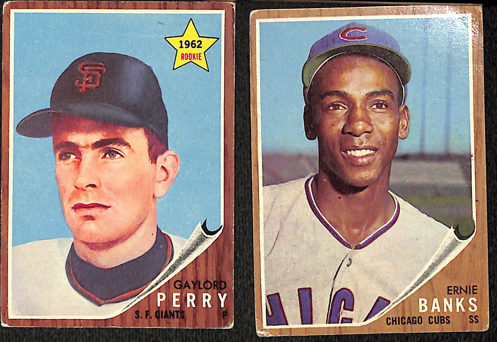 Lot Detail Lot Of 214 Different 1962 Topps Baseball Cards
