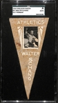 1916 Ferguson Bakery BF2 Felt Pennant Schang (As) SGC Authentic