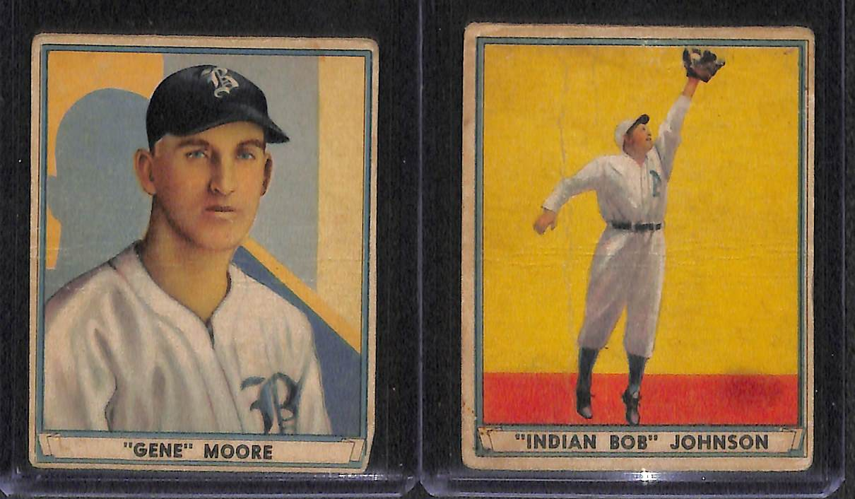 Lot Detail Lot Of 1939 1941 Play Ball Baseball Cards W 1940 Arky