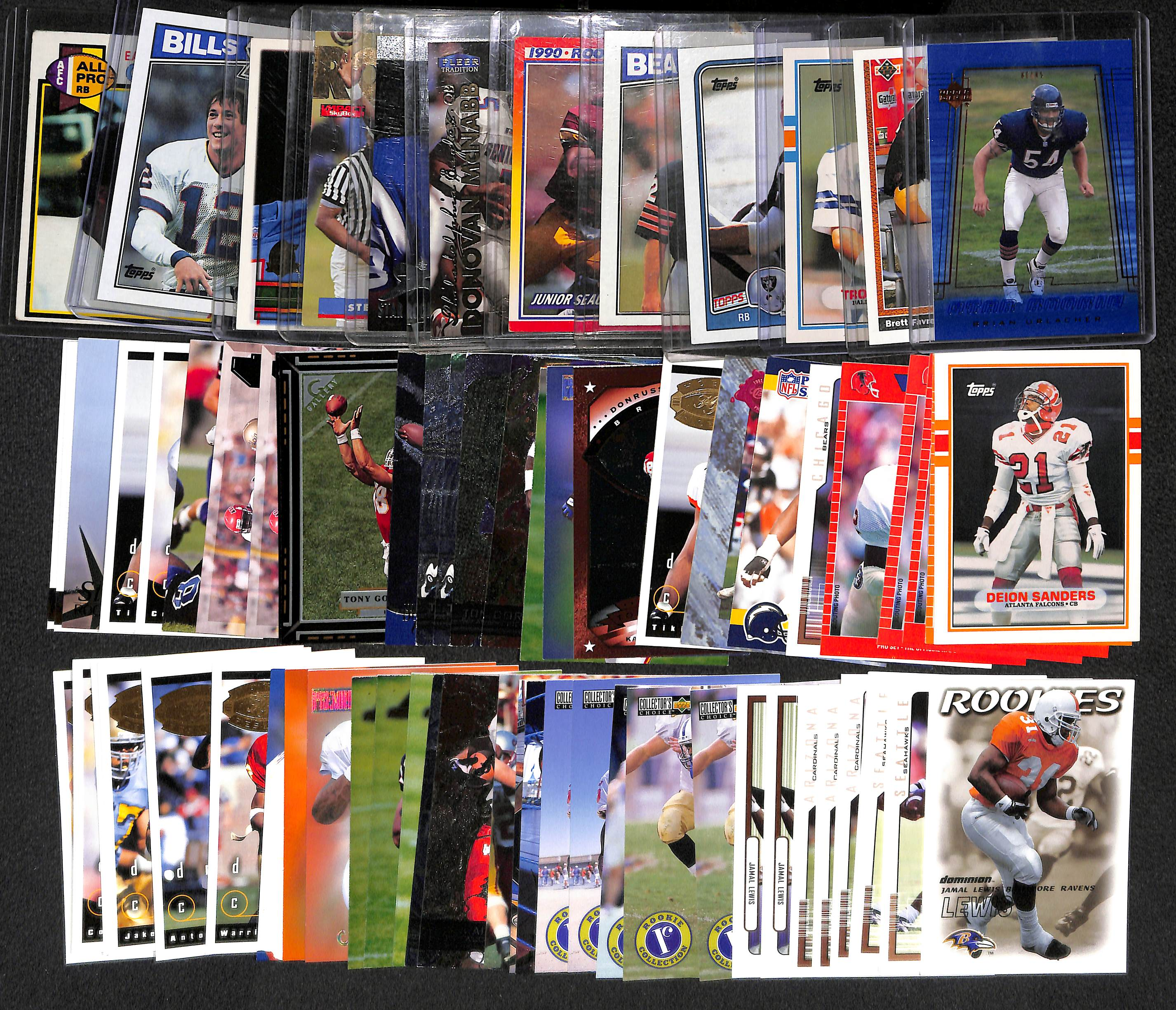 Lot Of (70) Football Rookies From The 1970s