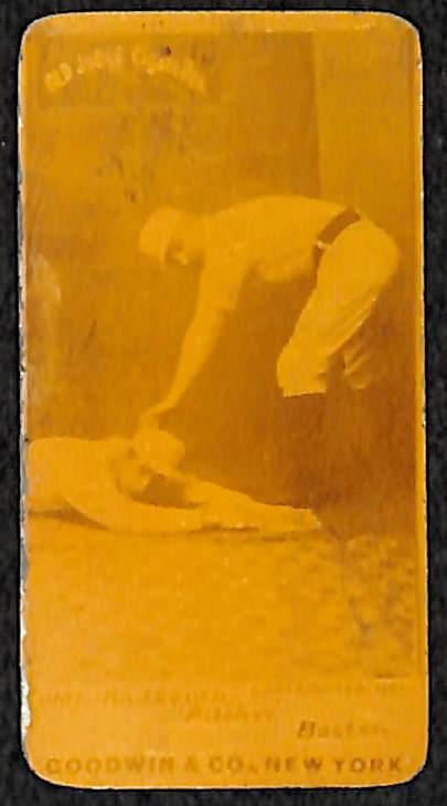 Lot Detail 1887 Old Judge Cigarettes N172 Rare Hofer Charles