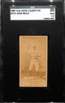 1887 Old Judge Cigarettes N172 John Reilly Card SGC 1.5