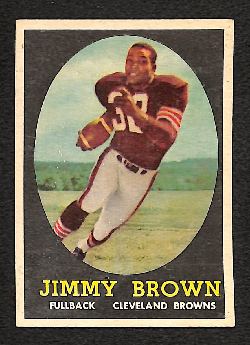 Lot Detail 1958 Topps Jim Brown Rookie Card