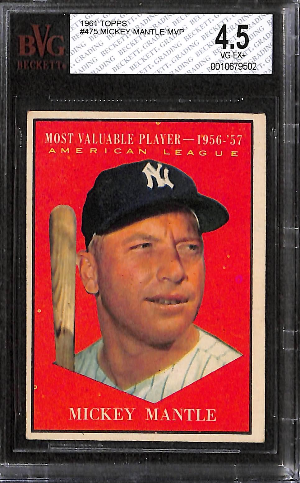 Lot Detail Lot Of 3 1960 61 Topps Baseball Cards W