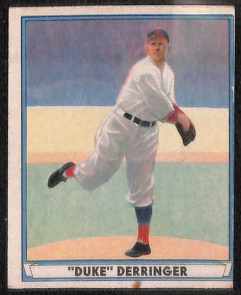 Lot Detail Lot Of 3 1941 Play Ball Baseball Cards W Mel Ott