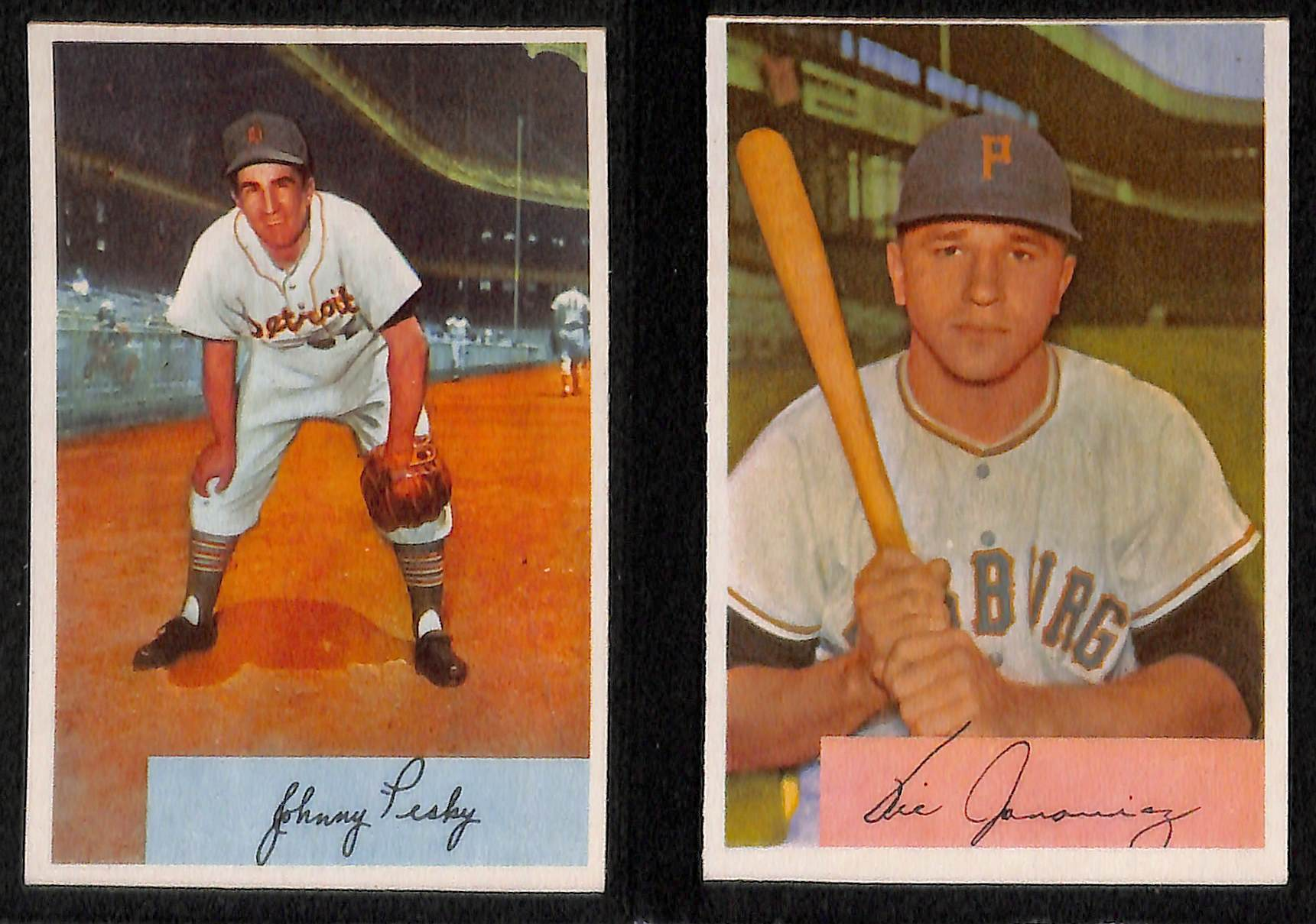 Lot Detail Lot Of 84 1954 Bowman Baseball Cards W Ralph Kiner