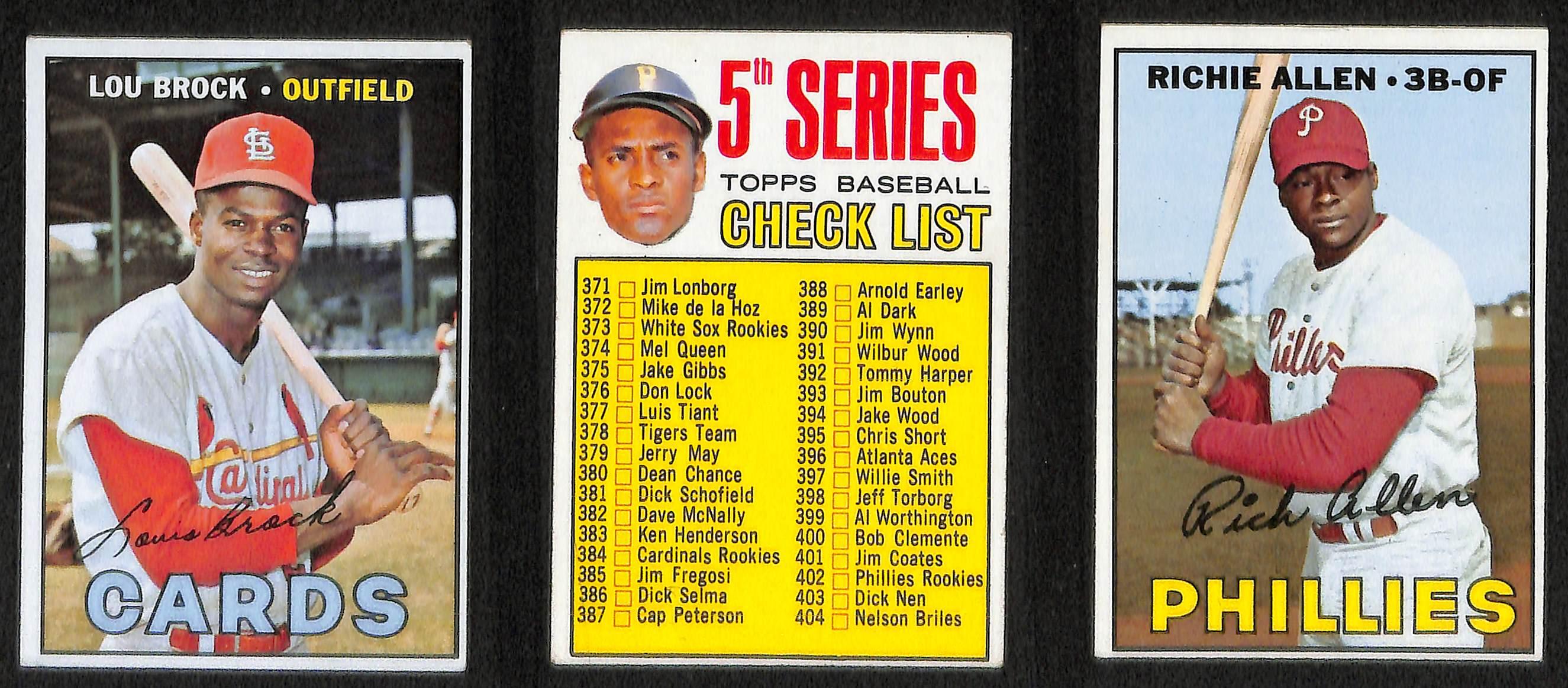 Lot Detail Lot Of 93 1966 1968 Topps Baseball Cards W 1967 Pete Rose