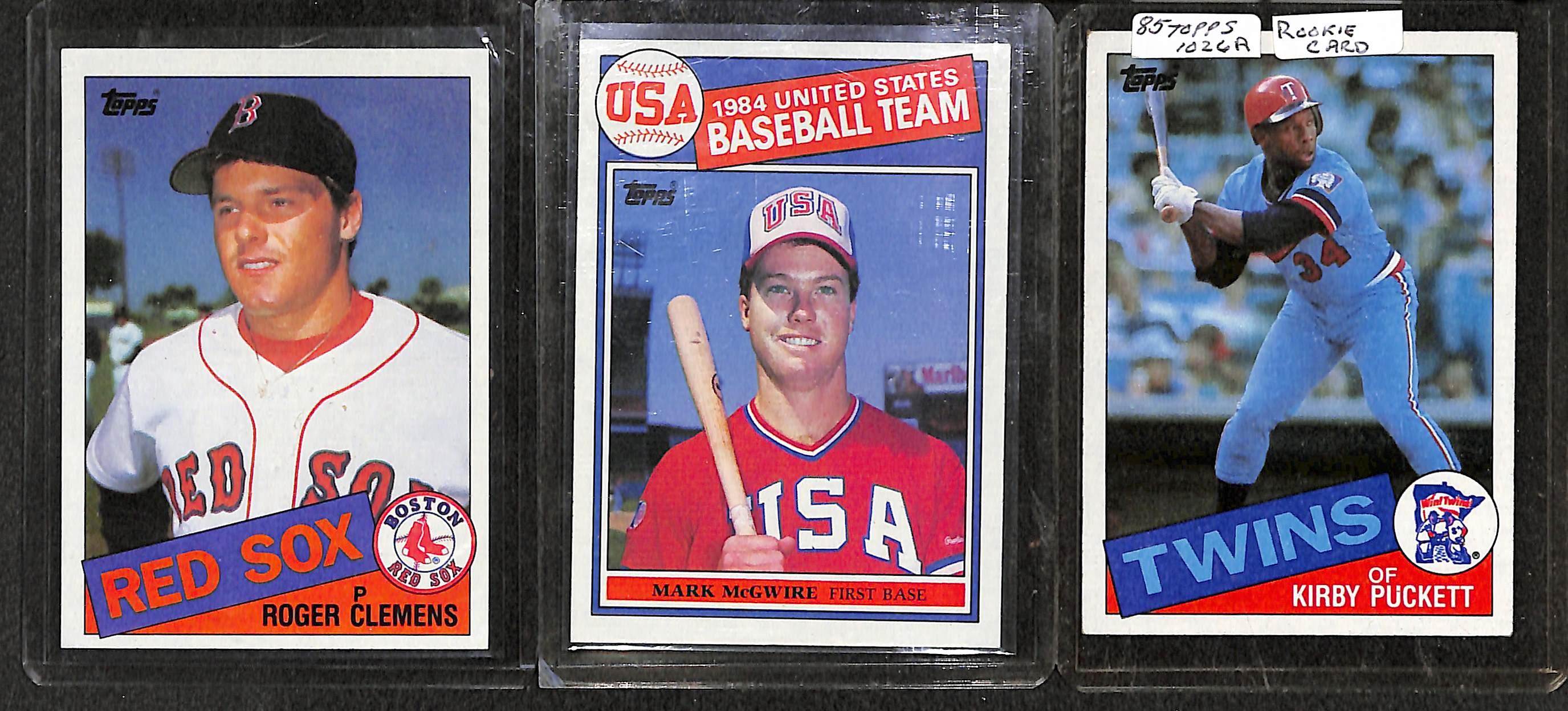 Lot Detail 1984 1985 Topps Baseball Complete Sets