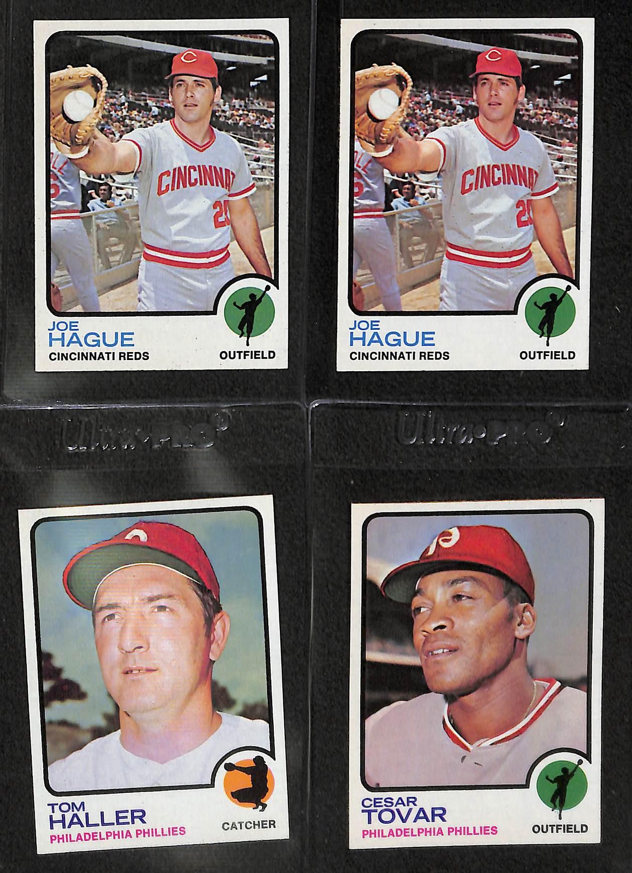 Lot Detail Vending Box Of 500 Assorted Pack Fresh 1973 Topps
