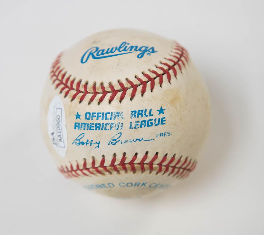 ba3830af10 Lot Detail - Ken Griffey Jr Signed American League Baseball - JSA