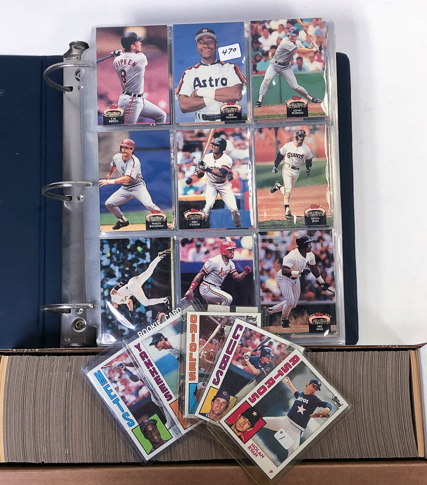Lot Detail 1984 Topps 1992 Topps Stadium Club Baseball