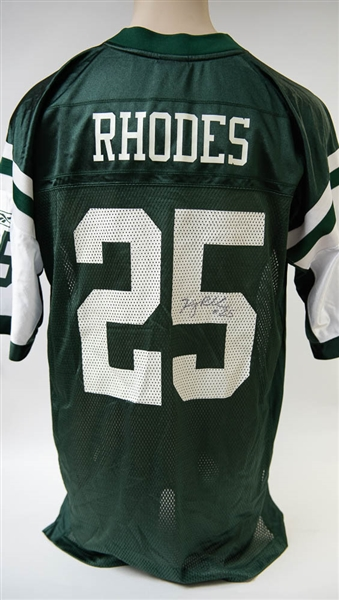 hot sale online ce12b 62fc9 Lot Detail - Ray Rhodes Signed New York Jets Jersey