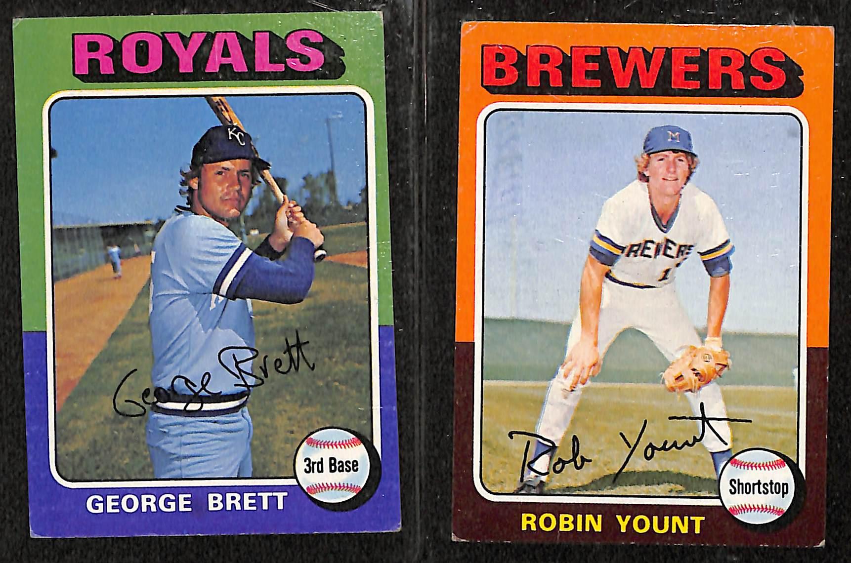 Lot Detail 1975 Topps Baseball Complete Card Set