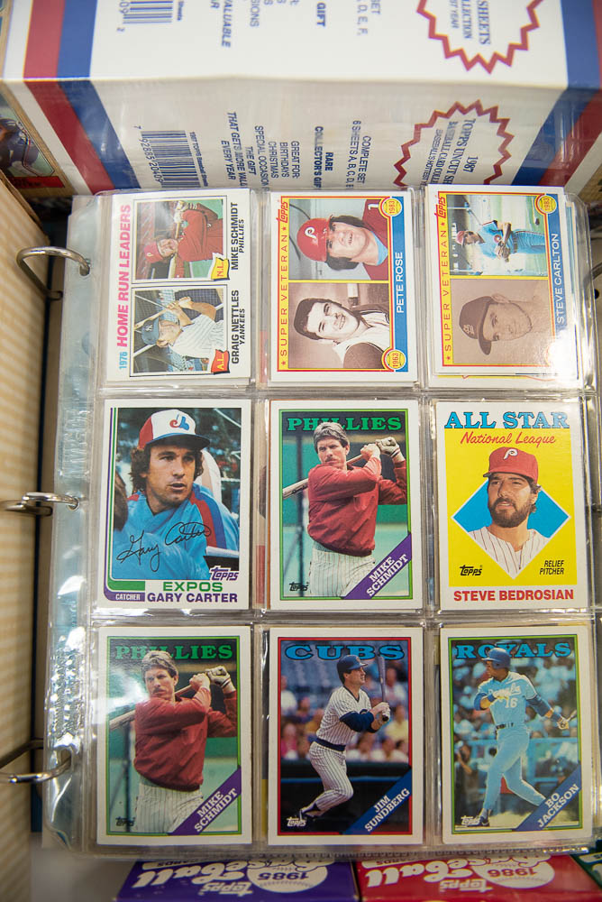 Lot Detail Large Lot Of Baseball Card Sets W 1984 Topps And A