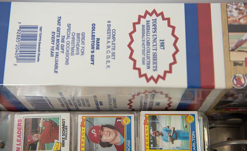 Lot Detail Large Lot Of Baseball Card Sets W 1984 Topps