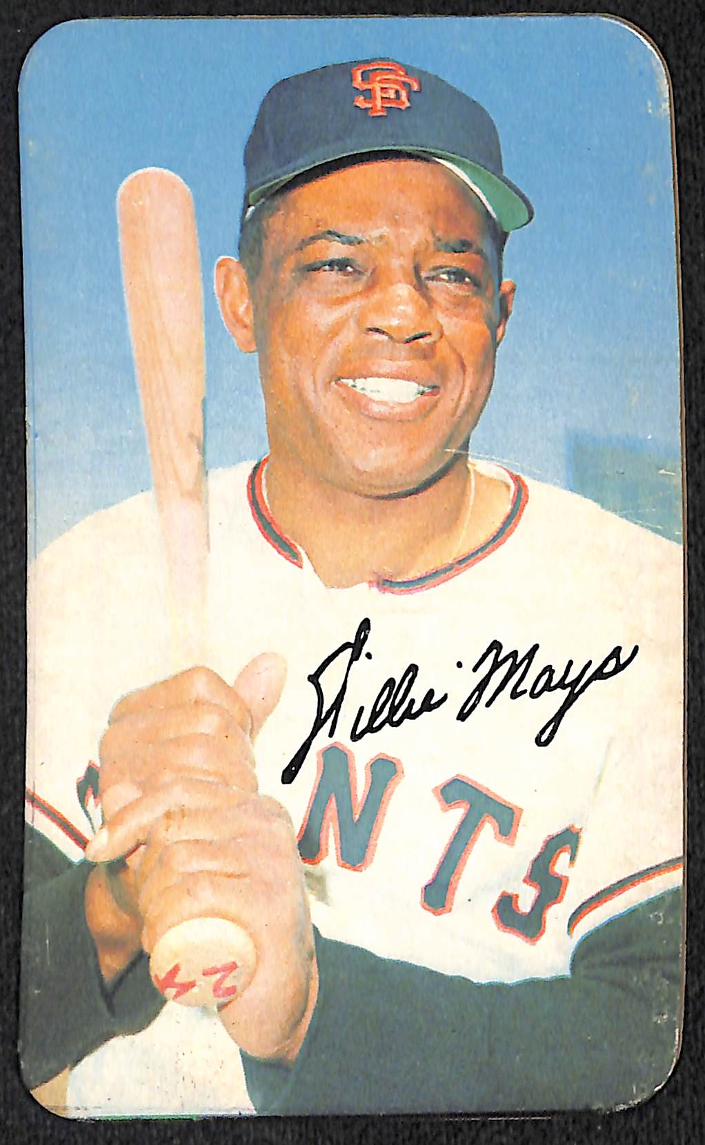 Lot Detail Lot Of 6 1970 Topps Super Cards Inc Willie Mays