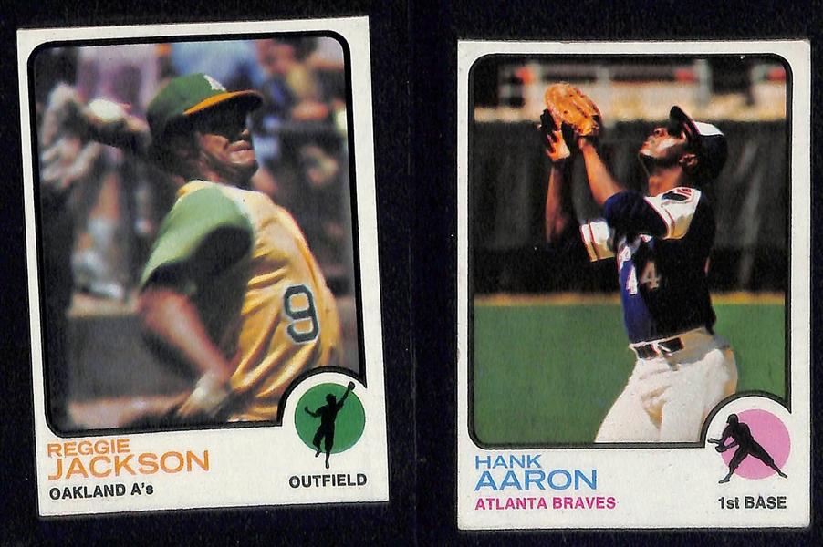 Lot Detail 1973 Topps Baseball Card Set All 660 Cards W