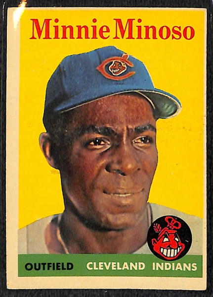 Lot Detail Lot Of 77 Assorted 1958 Topps Baseball Cards W
