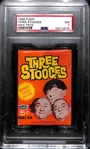 1965 Topps Three Stooges  Unopened Wax Pack PSA 7