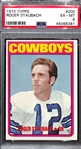 1972 Topps Roger Staubach #200 Rookie Graded PSA 6 EX-Mint