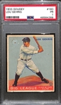 1933 Goudey Lou Gehrig Card (#160) Graded PSA 1