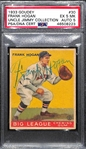"1933 Goudey Frank ""Shanty"" Hogan #30 PSA 5 MK (Autograph Grade 5)  Highest Grade (Pop 1) Only 2 Others PSA/DNA Graded (Both ""Authentic"") - d. 1967"