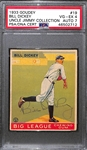 1933 Goudey Bill Dickey #19 PSA 4 (Autograph Grade 7) - Only 22 PSA/DNA Exist w. Only 1 Graded Higher! (d. 1993)