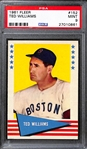 1961 Fleer Ted Williams #152 Graded PSA 9